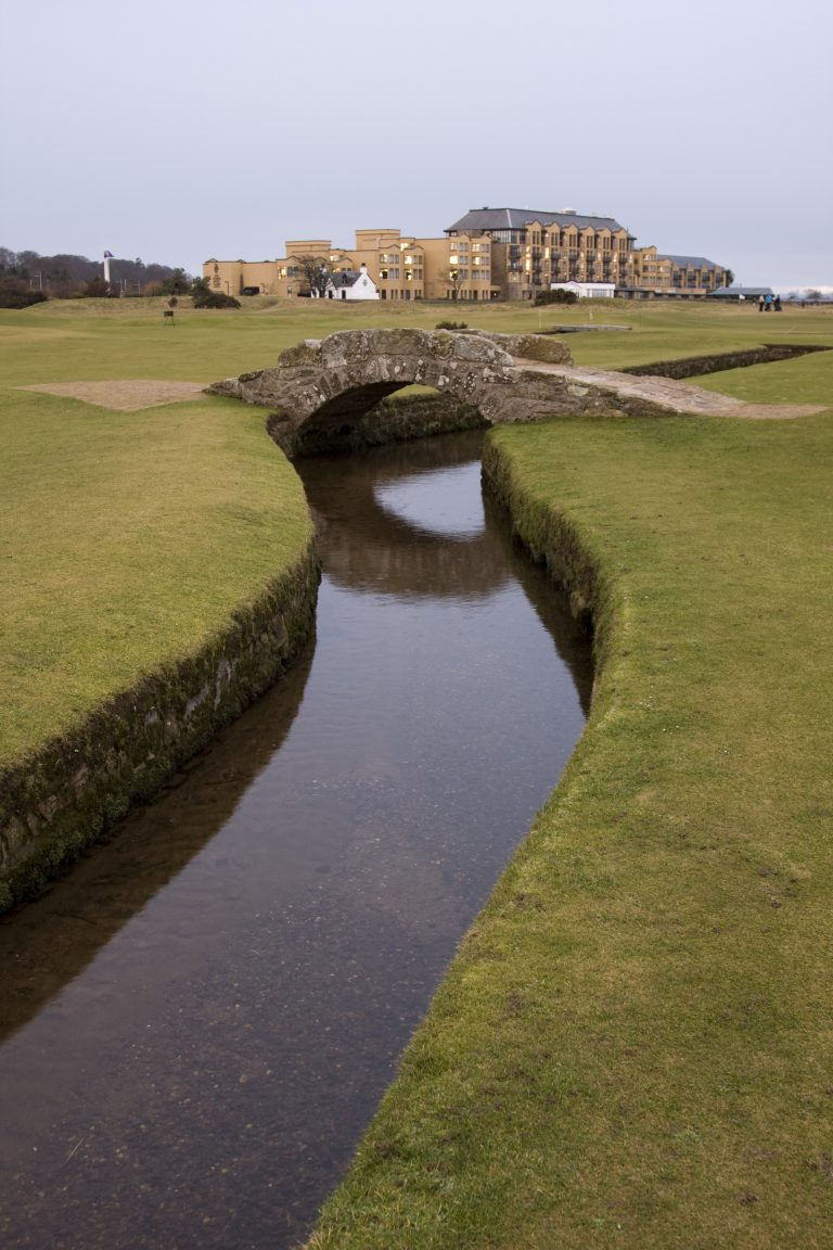 18th Green on St Andrew's Old Course