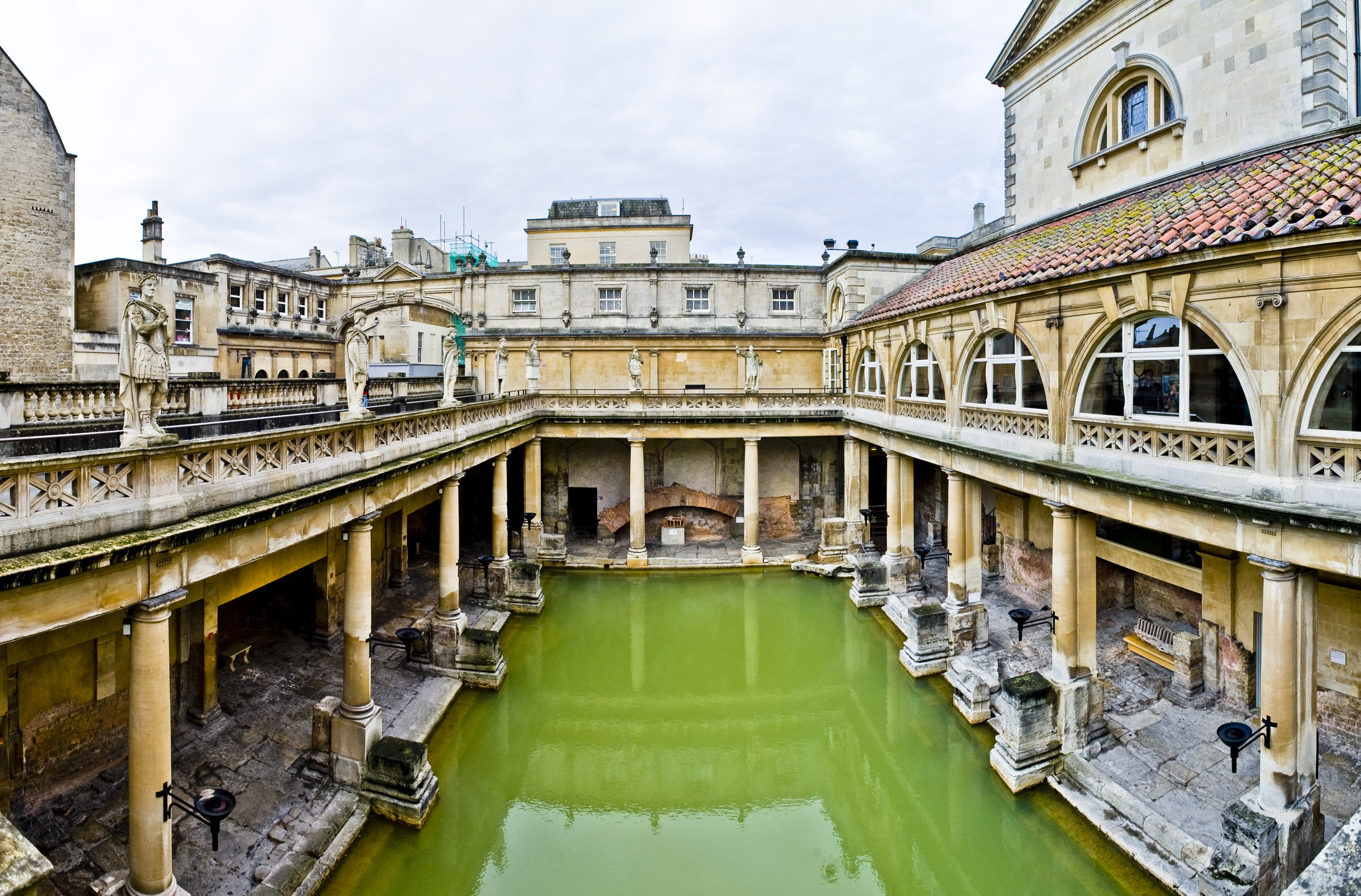 From London To Bath Day Trip By Train with Entry to Roman Baths